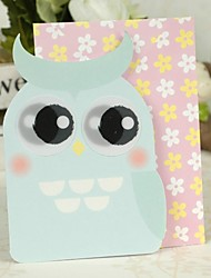 Night Owl Design Side Fold Greeting Card for Mother's Day