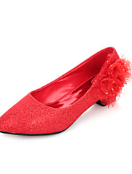 Women's Wedding Shoes Comfort Flats Wedding Red