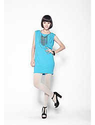 Zoely Frauen Einfache Elastic H-Line ausschließen Halskette Kleid 101121L064