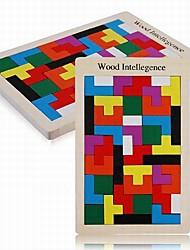 Baby  Educational Toys Wooden Tetris Blocks Puzzle