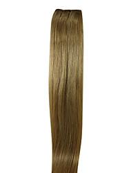22inch Remy do indiano de cabelo Weave humano de 100% de seda Cabelo Liso 100g mais cores Avaliable