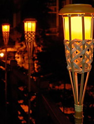 Bamboo Solar Led Lights with 2 Lights