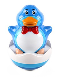 Musical Blue Duck Pattern Tumbler Toy for Baby
