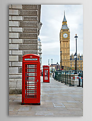 Stretched Canvas Print Art Landscape Big Ben, UK