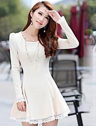 Women's Dress Shirts , Polyester Casual Mengliya