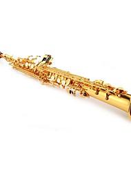 Soprano Saxophone Sax Soprano Sax Gold Straight Saxophone Sax SET