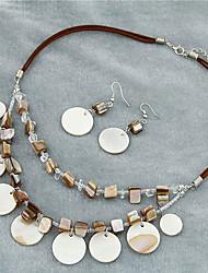 Women's Bohemia Style Shell-Shaped Necklace&Hook