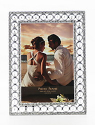Retro Style Silver Metal Picture Frame