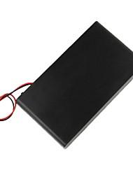 DIY 12V 8 x AA Battery Box Holder Custodia con cavi / Switch