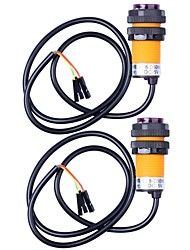 IR Infrarot-Sensor-Schalter mit Fest Ringe - Orange + Schwarz (2ST)