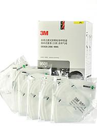 3M 9501 N95 PM2.5 respirant la poussière Anti-virus respiratoire monté sur la tête (50 pièces / boîte)
