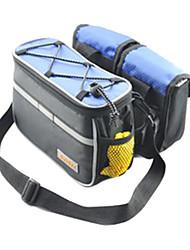 FJQXZ anti-déchirure et imperméable à l'eau 4-en-1 chariot sac noir avec la couverture de pluie