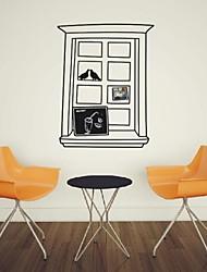 Toujours fenêtre encadrée vie stickers muraux décoratifs