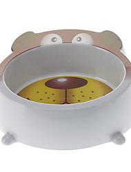 Bols & Bouteilles d'eau Animaux de Compagnie Bols & alimentation Portable Blanc