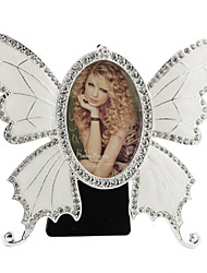 Retro Style Butterfly Metal Picture Frame