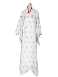 Vocaloid Snow Miku Snowflake Pattern Cosplay Costume