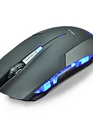 USB LED 1600 DPI bleu filaire professionnel Gaming Mouse