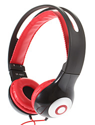 Fashion Stereo High Quality On-ear Headphone for PC/MP3/MP4/Telephone(Red)