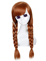 Frozen Princess Anna Red Cosplay Wig