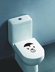 Animais Bonito WC Face Recados Postado Stickers