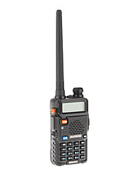 Baofeng UHF / VHF 400-480/136-174MHz 4W/1W VOX radio de dos vías Walkie Talkie Transceptor Interphone