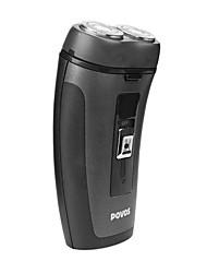 Las dos caras recargable Rotary máquina de afeitar PQ3302 con una batería incorporada