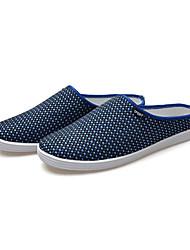 Zapatos de Hombre Casual Lino Mocasines Negro/Beige/Azul Marino/Caqui
