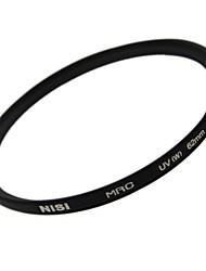 НИСИ 62mm MRC UV Ультрафиолетовый Ультратонкий двусторонняя Многослойное покрытие линз Фильтр протектор для Nikon Canon камер Sony