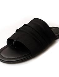 Синтетические Женские плоский каблук Слайд Тапочки обувь