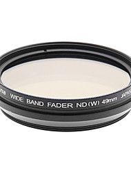 Nicna ND2~ND400 Premium Digital Fader ND Filter(49mm)