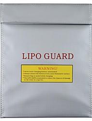 RC LiPo Segurança da bateria Bag Safe Guard carga Sack Cor Prata (grande)