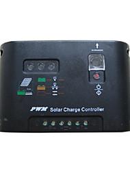 interrupteur de reconnaissance automatique puissance unique contrôleur 10a régulateur solaire de 12v/24v