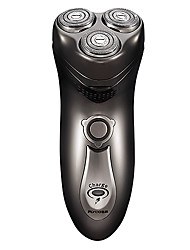 High Quality Flyco 3D Head Washable Floating Rotary Electric Men Shaver