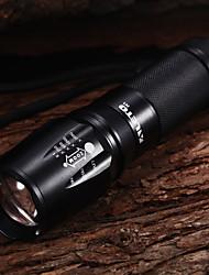 KL075 5-Mode 1xCree XM-L T6 Adjustable Focus LED Flashlights(1x26650,1000LM)