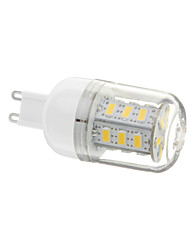 5W G9 Ampoules Maïs LED T 24 SMD 5730 12OO lm Blanc Chaud AC 100-240 V
