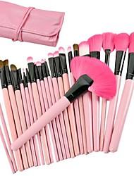 Nouveau maquillage professionnel 24PCS cosmétique de kit de brosse de toilette de maquillage