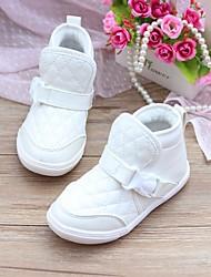 Crianças Buckle Trimestre de algodão acolchoado Botim Shoes