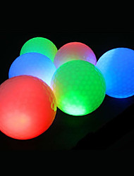 LED Light up Golf Balls,Elastic Gleamy Golf