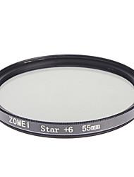Zomei Kamera professionelle optische Rahmen Sterne 6 Filter (55 mm)