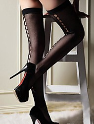 INONE Fishnet Stockings Black