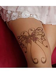 Women's Butterfly Pattern Pantyhose