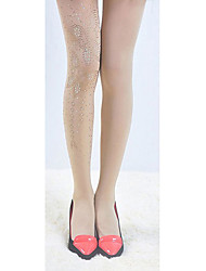 Women Thin Pantyhose , Cotton Blends