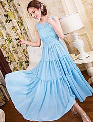 Women's Dresses , Chiffon Casual JJE