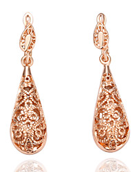 Gold Plated With  Women's Drop Earrings(More Colors)