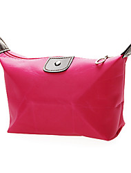Gifts Bridesmaid Gift Fushcia Waterproof Fabric Cosmetic Bag