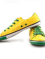 BODA Korean Fashion Trend Flat Canvas Shoes(Yellow)