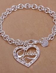 Meles 925 Silver Pendant Bracelet