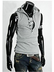 Men's Casual Hoodie  Vest