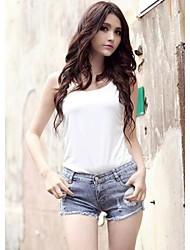 Damenmode Sexy Jeans-Shorts