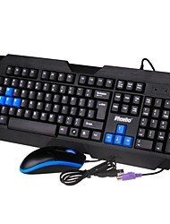 Phoebo AKM-8100 Gioco Wired Keyboard & Mouse (P + U)